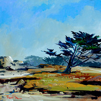 SOLD Morning In Pacific Grove 20x20