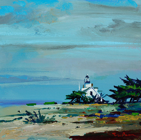 SOLD Pacific Grove Lighthouse 20x20